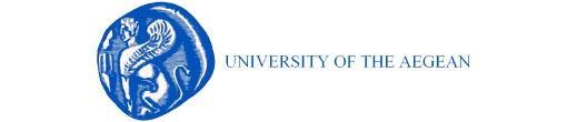 Logo université de la mer Égée